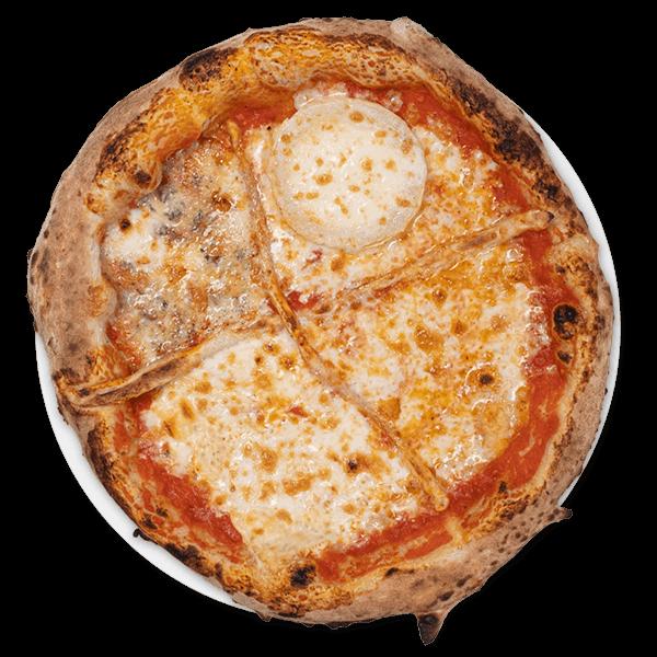 pizza cuatro quesos