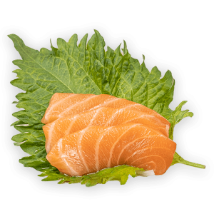 sashimi alaska salmon