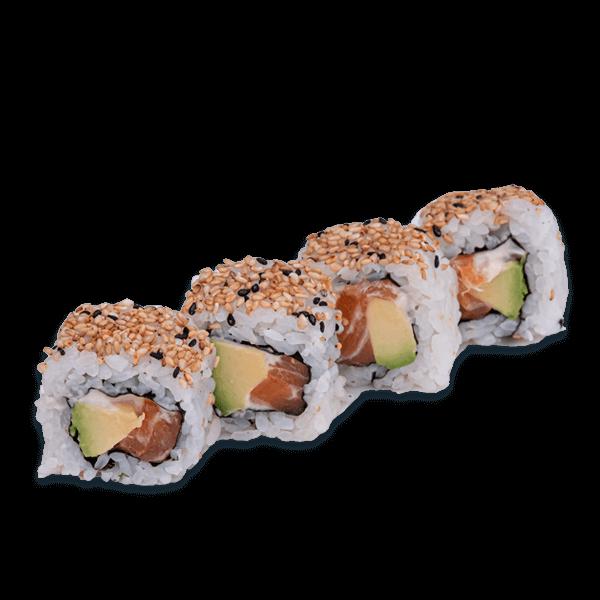 salmon to avocado