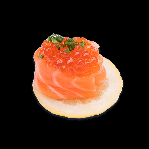 special salmon gunkan